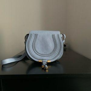 Chloe Marcie Small Leather Saddle Bag